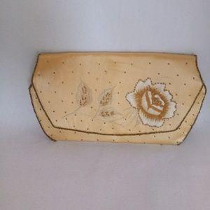 La Regale clutch hand beaded vintage purse